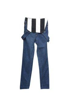 Not Anyone - Oldschool Overalls - Ogrodniczki Stripes