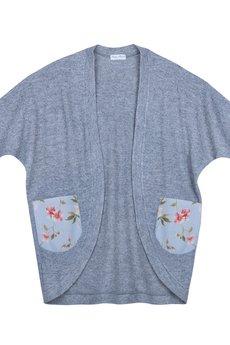 Kasia Miciak design - Ciepły sweter/płaszczyk z wełny