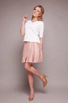 Pinky Planet - Biała bluza