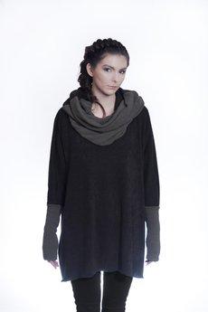 HebeQuss - Sweter-ponczo B&Bukla Phantom