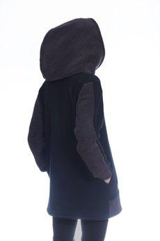 HebeQuss - Bluza z kapturem Purple Vader