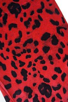 MissSpark - Leggingsy RIRI czerwone
