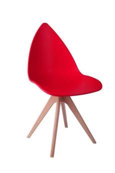 MIA home passion - Krzesło Glare czerwone