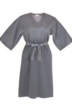 Kasia Miciak design - Prosta sukienka z paskiem