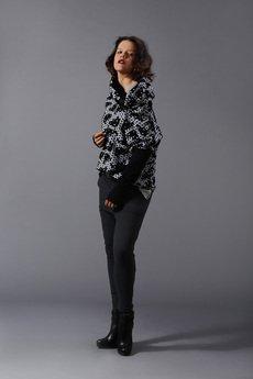 NUBEE - NubeeCiałoZakrywacz- bluza z SzyjoOtulaczem DŁUŻSZA