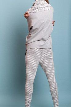 NUBEE - SLACKS - spodnie z kolekcji Black&White