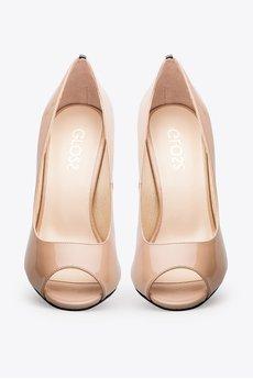 Gloss shoes  cz%c3%b3%c5%82enka z odkrytymi palcami i ozdob%c4%85 z ty%c5%82u be%c5%bc  429z%c5%82  2