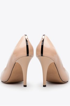 Gloss shoes  cz%c3%b3%c5%82enka z odkrytymi palcami i ozdob%c4%85 z ty%c5%82u be%c5%bc  429z%c5%82  3
