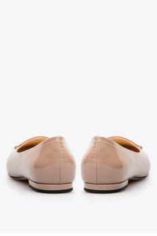 Gloss shoes  balerina lakierowana z czybkiem i ozdob%c4%85 359z%c5%82  3