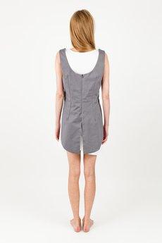 BLUE EYE POP - Komplet damski Sukienka szara WBEP_D10 + sukienka biała