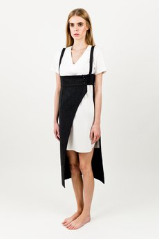 BLUE EYE POP - Komplet damski Sukienka-spódnica WBEP_D03 + biała sukienka