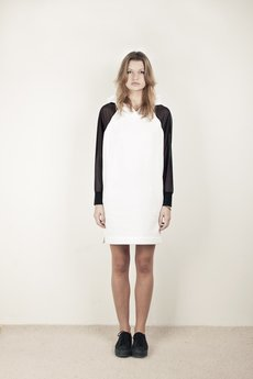 - DEMENTORKA DRESS WHITE