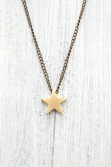 MOKAVE - Naszyjnik MOKAVE Star - monochrome