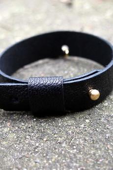 Zuza Kilanowicz - Baldwina Chic! Leather Bracelet