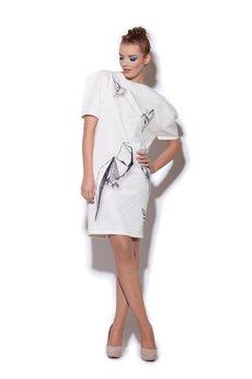 FENOMENALE - geometryczna sukienka ORIGAMI