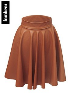 Lambear - Skórzana spódnica z koła