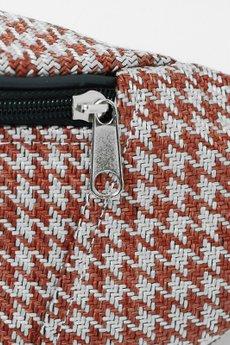 cherrish - Saszetka CHERRISH Biało-czerwona pepitka