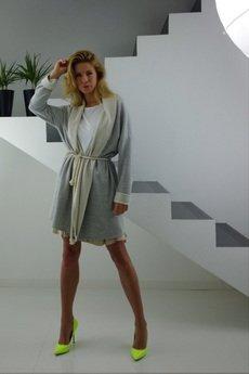 YES TO DRESS by Bożena Karska - TOOLA jersey cardigan