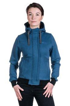Slogan ubrania ekologiczne, etyczne i wegańskie - IMPULS bluza damska sea