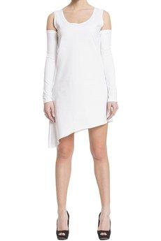 BLUE EYE POP - Sukienka biała Wbep_D04