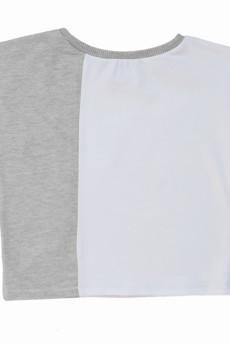 - asymetryczny t-shirt