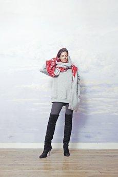 RISK made in warsaw - szalik SZAL WE? for her