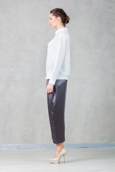 Hedoco bluza lacosta blouse white3