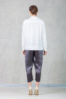 Hedoco bluza lacosta blouse white4