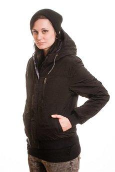 Slogan ubrania ekologiczne, etyczne i wegańskie - ANTI kurtka dwustronna damska grey