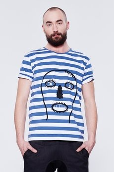 BLUE EYE POP - T-SHIRT W PASKI