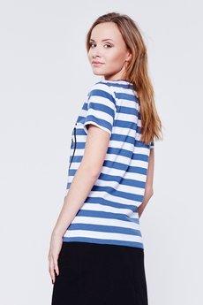 BLUE EYE POP - T-Shirt w paski