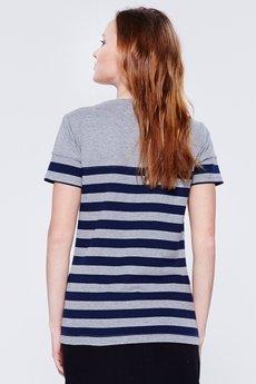 BLUE EYE POP - T- shirt w paski