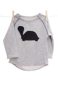 maybe4baby - LongLove szary/żółw