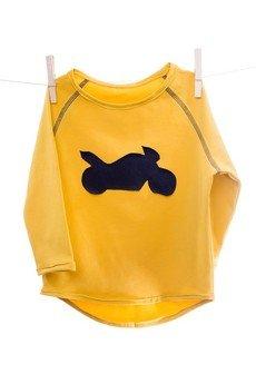maybe4baby - LongLove żółty/motor