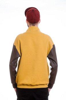 Slogan ubrania ekologiczne, etyczne i wegańskie - Chelsea bluza męska honey