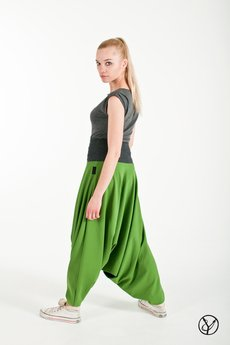 Hultaj Polski - Haremki zielone damskie