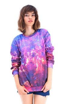 Mr. Gugu & Miss Go - Bluza Purple Nebula