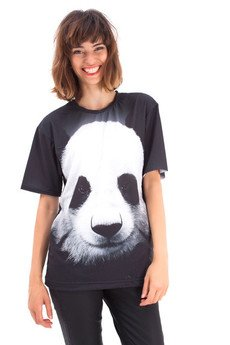 Mr. Gugu & Miss Go - Panda t-shirt