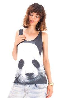 Mr. Gugu & Miss Go - Tank-top Panda