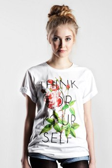 Yeah Bunny - Tshirt - Think for Yourself