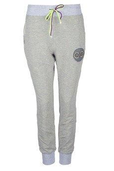 COLORSHAKE - Spodnie dresowe grey/neon
