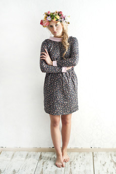 Brunoszka - FLOWERS/SLIM/DRESS