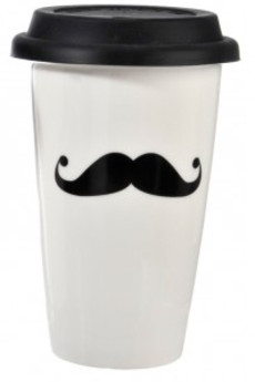 MIA home passion - Kubek podróżny Mustache I