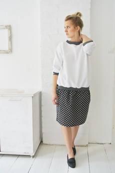 Brunoszka - dots/summer/skirt