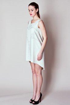 Justyna Ołtarzewska - JAS-02-B Tuniko-sukienka ręcznie malowana