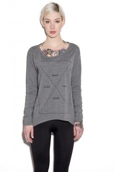 The Hive - FWYH LONGSLEEVE HEATHER GREY