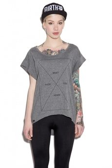 The Hive - FWYH TUNIC HEATHER GREY