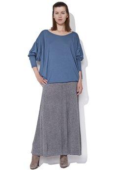 - BFF Bluzka oversize niebieska