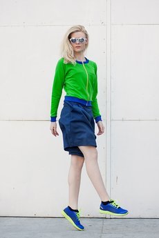 Distense - Green Apple Sorbet Blouse