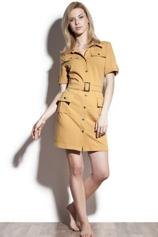 Bozzolo - Safari Quince Dress • Karmel